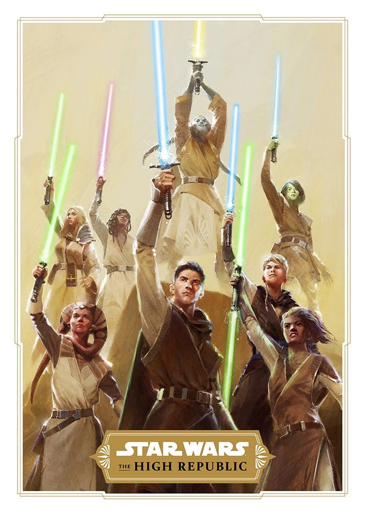 "High Republic Poster - Novedades del futuro de ""Star Wars"""