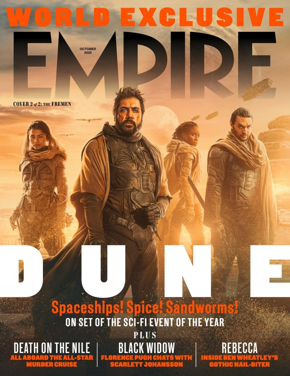 The Sleeper Awakens As Dune Gets Stunning New Empire Magazine Covers Cinelinx Movies Games Geek Culture