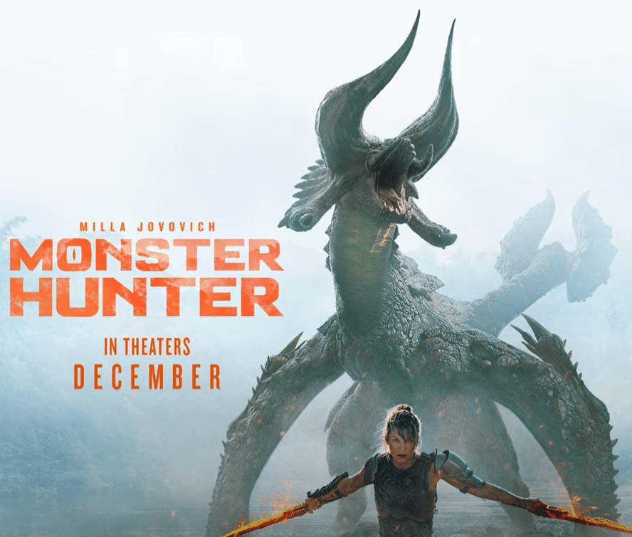 The terrifying new behemoth in the Monster Hunter movie