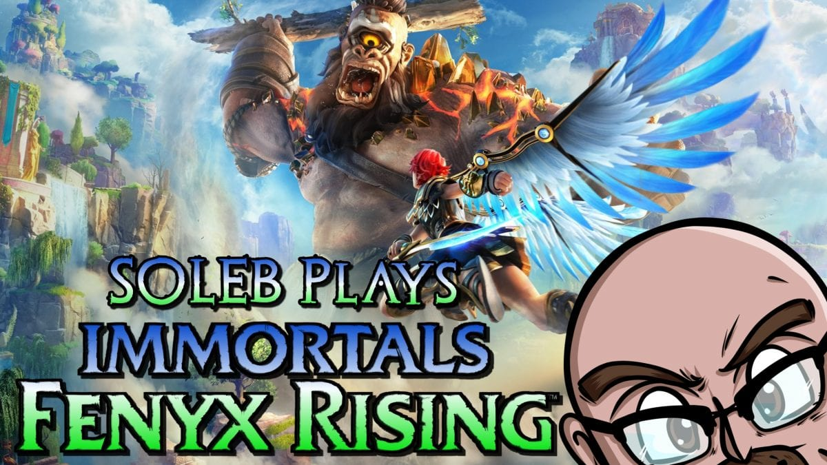 s0leb Plays the First Hour of Immortal Fenyx Rising on PS5! - Cinelinx