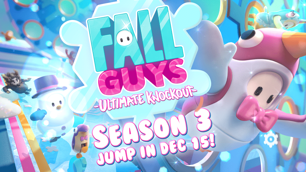 Fall Guys: Ultimate Knockout Season 3 launches December 15